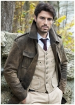Men\'s jacket Trench made by Meindl.