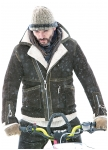 Jacket Dexter for men of lambskin from Meindl