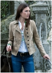 Lexi jacket made of deer leather from Meindl.