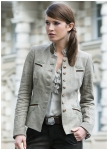 Fashionable linenjacket Helene from Meindl.