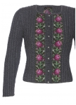 Traditional lady cardigan hand knitted in Bavaria for you!!