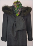Woman\'s jacket with finn racoon from Steinbock