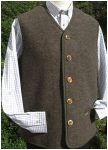 Men\'s wool vest from Steinbock / Tirol