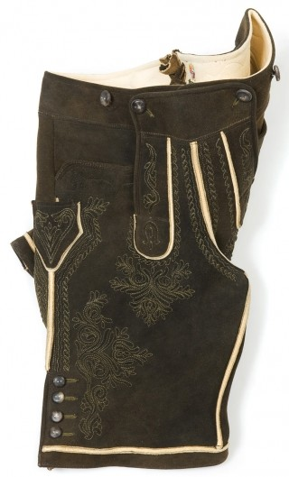 Traditional leather trousers \'Altaussee\' from Meindl.