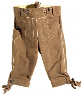 Leather knickerboker for boys.