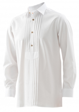 Traditional shirt with 3 cords.