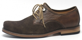 Jung middle laced shoe from Dirndl und Bua