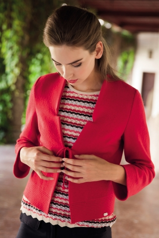 Traditional red vest from Geiger
