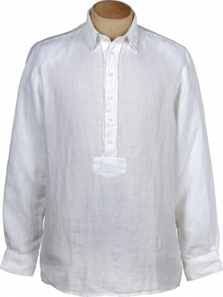 Costumeshirt (Pfoad) made of linen from Grasegger.