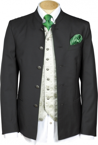 Very fine jacket with stand up collar from Grasegger