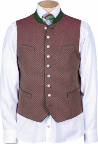 Xeno vest with stand up collar from Grasegger