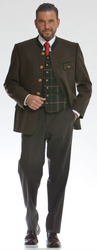 Traditional men`s jacket coolwool  from Kaiserjäger.