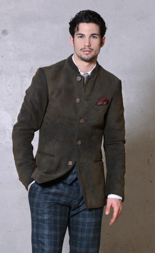 Balthsar deerleather jacket from Meindl.