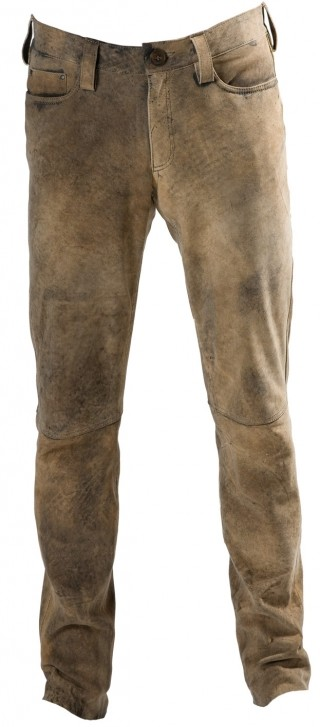 Deer leather trousers Phönix from Meindl for woman.