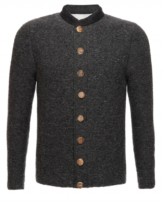 Traditional men jacket handknitted from Pezzo