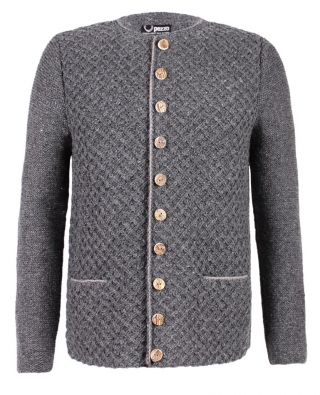 Alpin-Lifestyle, sheep wool jacket hand knitted Pezzo!