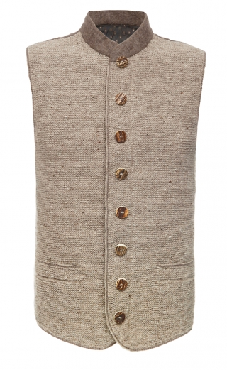 Traditional mens vest hand made in Bavaria from Pezzo