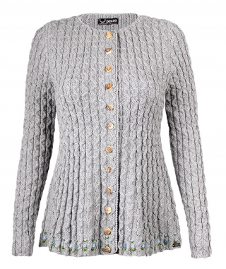 Alpen-Lifestyle! Nice Cardigan handknitted from Pezzo