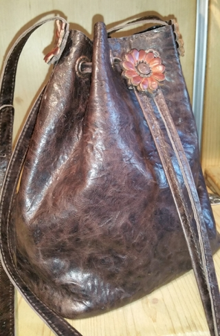 Leather Handbag  from Sima.