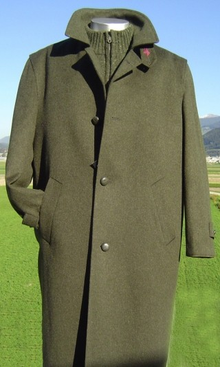 Loden coat from Steinbock/Tirol.