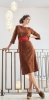 Samantha dress made of stretch goat leather from Meindl