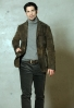 Wales  jacket of goatskin leather from Meindl