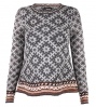 Hand knitted norwegain pullover from Pezzo/Bavaria